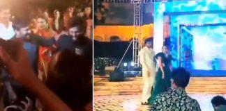 Chiranjeevi Allu arjun Dance In Niharika Konidela Sangeeth Party