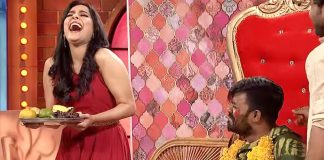 Emmanuel Satires On Rashmi Gautam In Extra Jabardasth