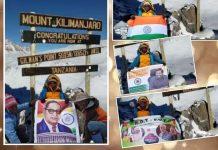 ananthapur girl climbs mount kilimanjaro