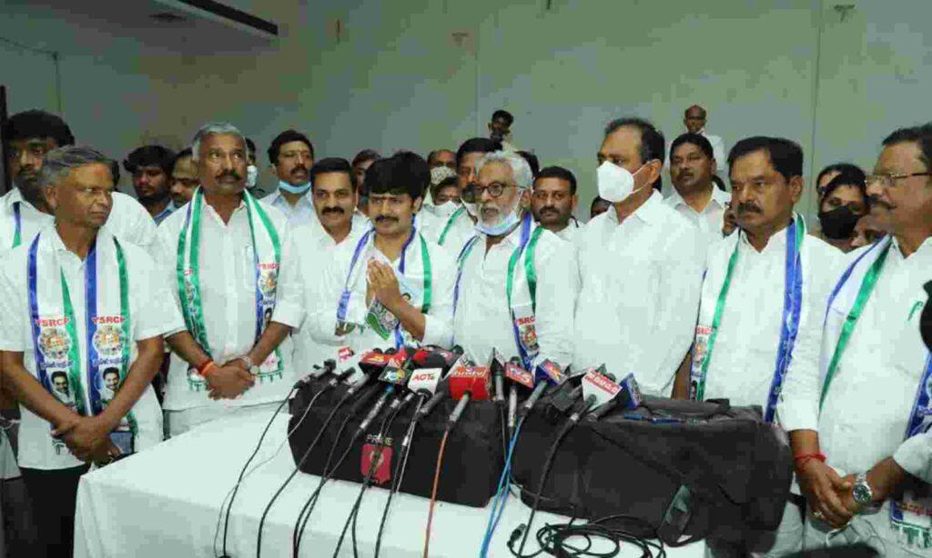 ysrcp leaders in chittur not fallowing ys jagan orders
