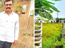 headmaster from madhya pradesh turned his working govt school into full of greenary in 20 years