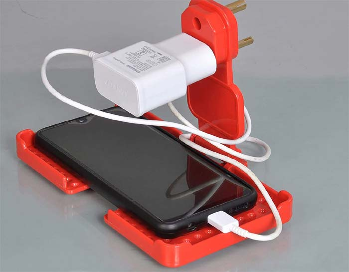 mobile charger holder business best in low budget