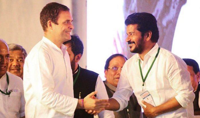 Rahul Gandhi meets Revanth Reddy changing telangana politics