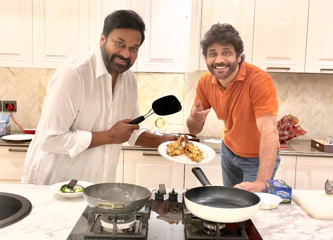 Nagarjuna about Chiranjeevi special dish