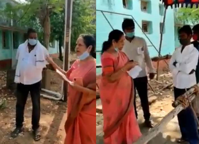 fake voters red handedly caught in tirupati byelection