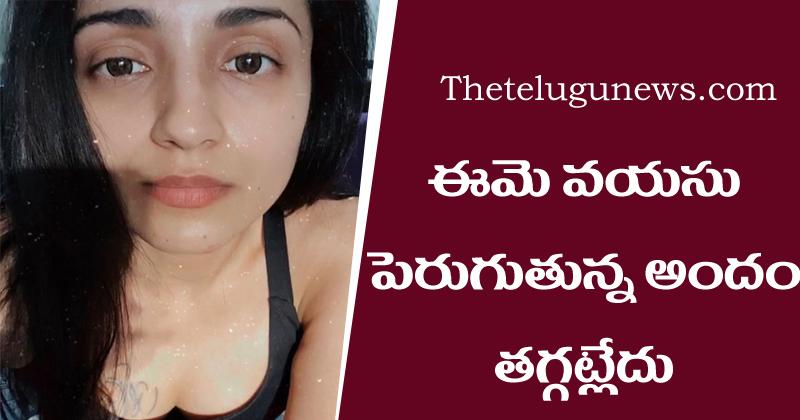 trisha krishnan Latest Pics Viral