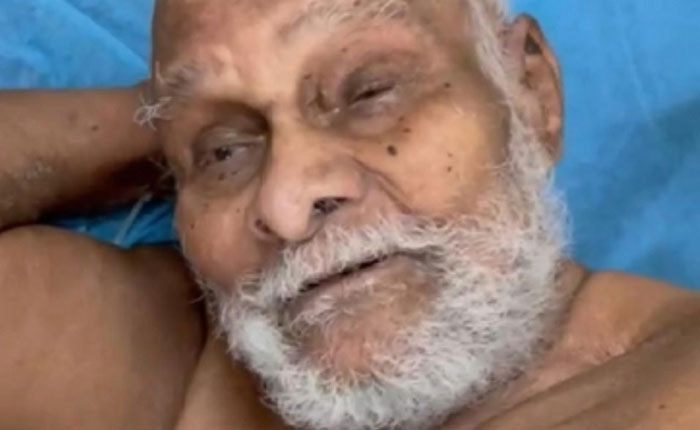 110 year old man in hyderabad recovered from hospital
