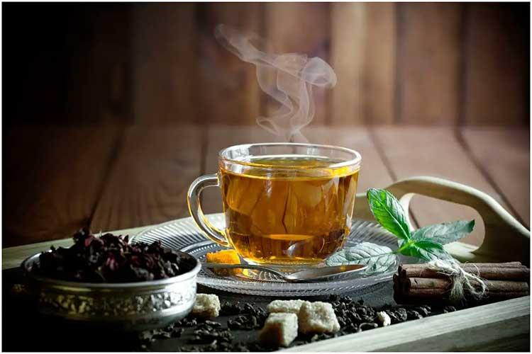 health benefits of 5 types of herbal teas