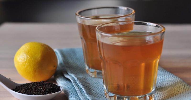 health benefits lemon Tea