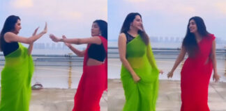 tollywood actress surekha vani dance with her daughter
