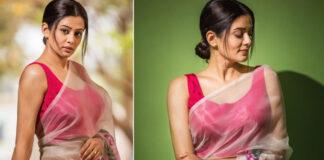 Priyamani Latest Saree Pics goes to viral
