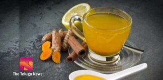 turmeric green tea health benefits telugu