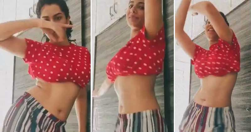 anchor vishnu priya Dance Video Viral