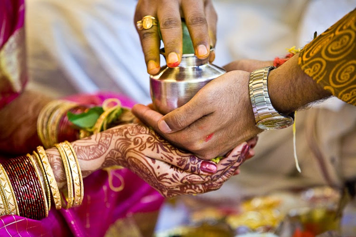 man kills wife on first day of marriage in krishna