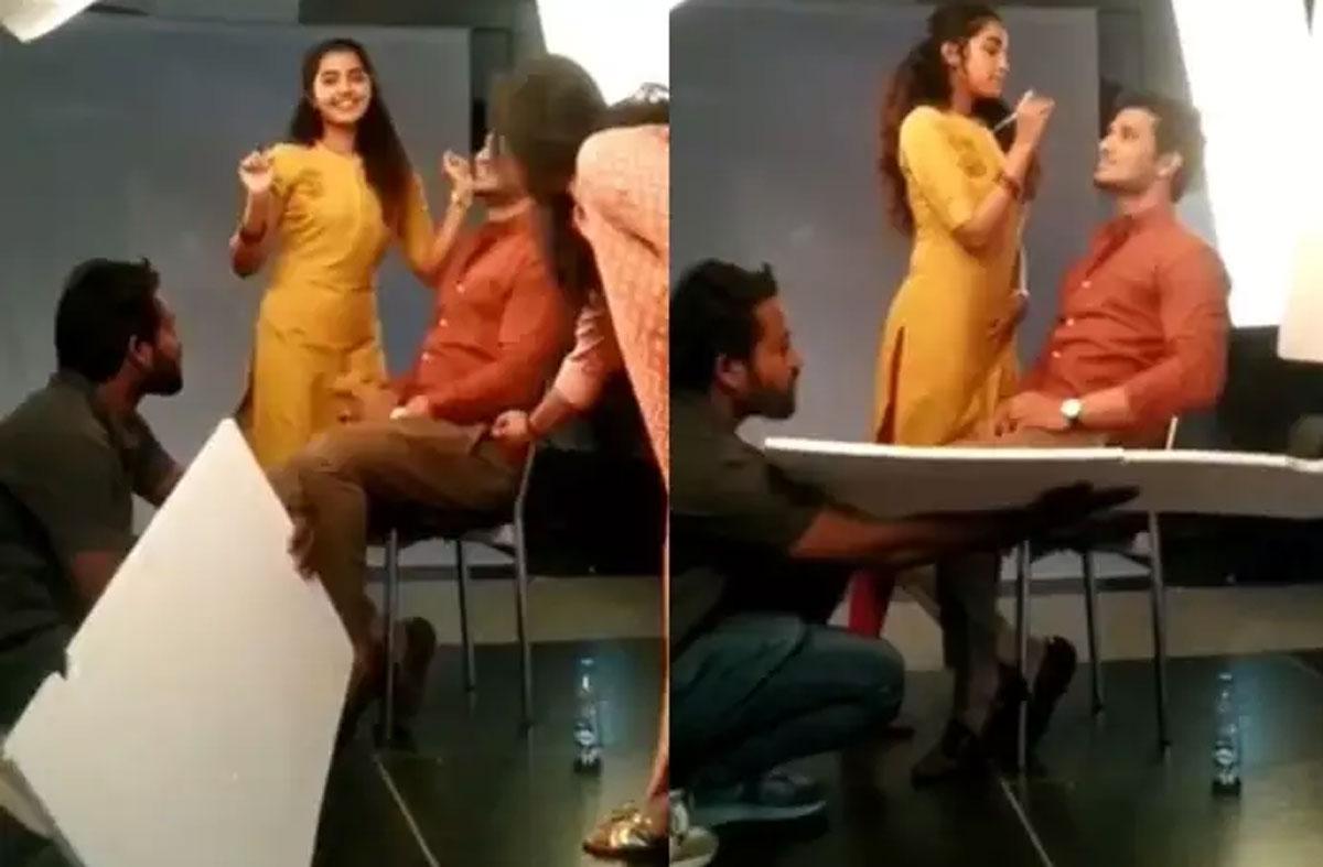 nikhil and anupama parameswaran in 18 pages movie