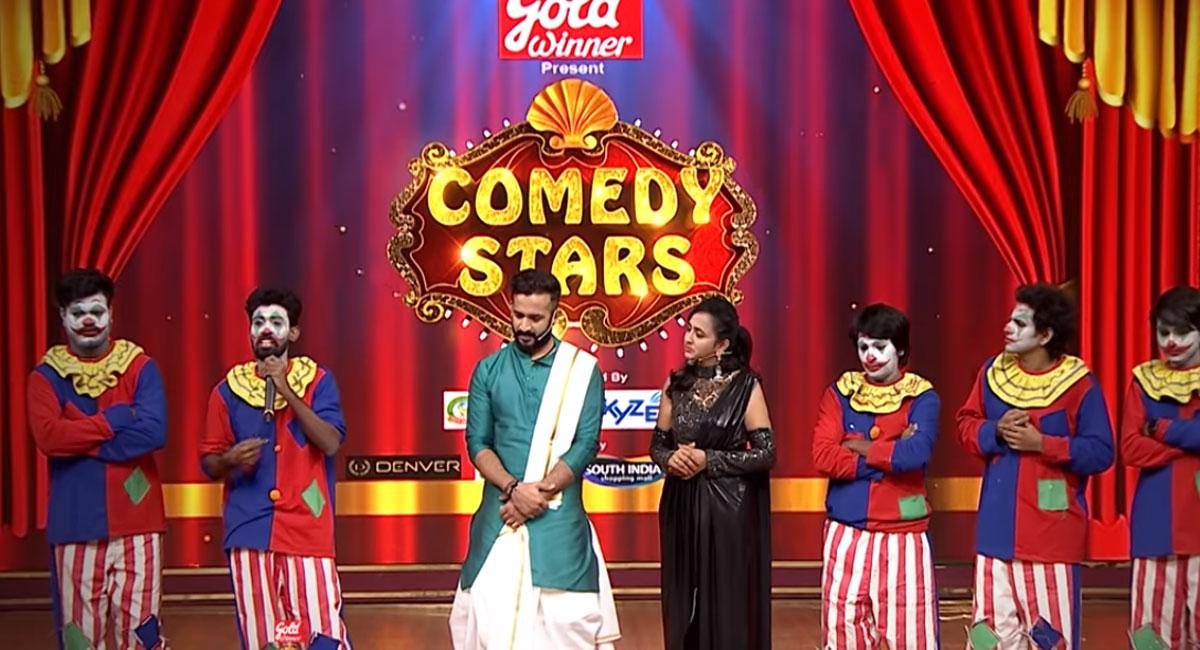 sekhar master emotional in comedy stars show