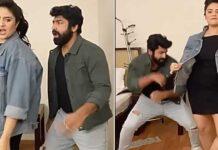 sreemukhi Shekar Master Dance Video Viral