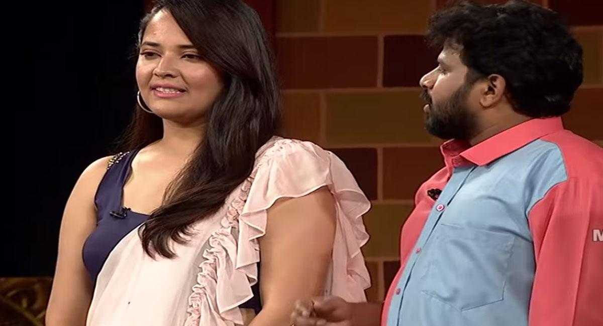 anchor anasuya and hyper aadi in jabardasth latest promo