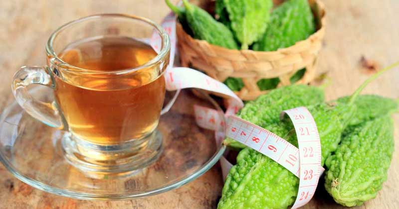 health benefits of bitter gourd tea