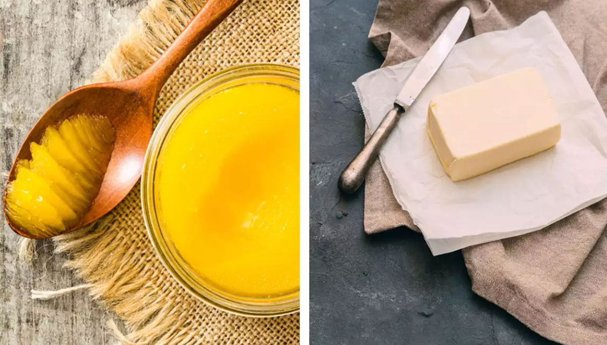 ghee vs butter which is better for health