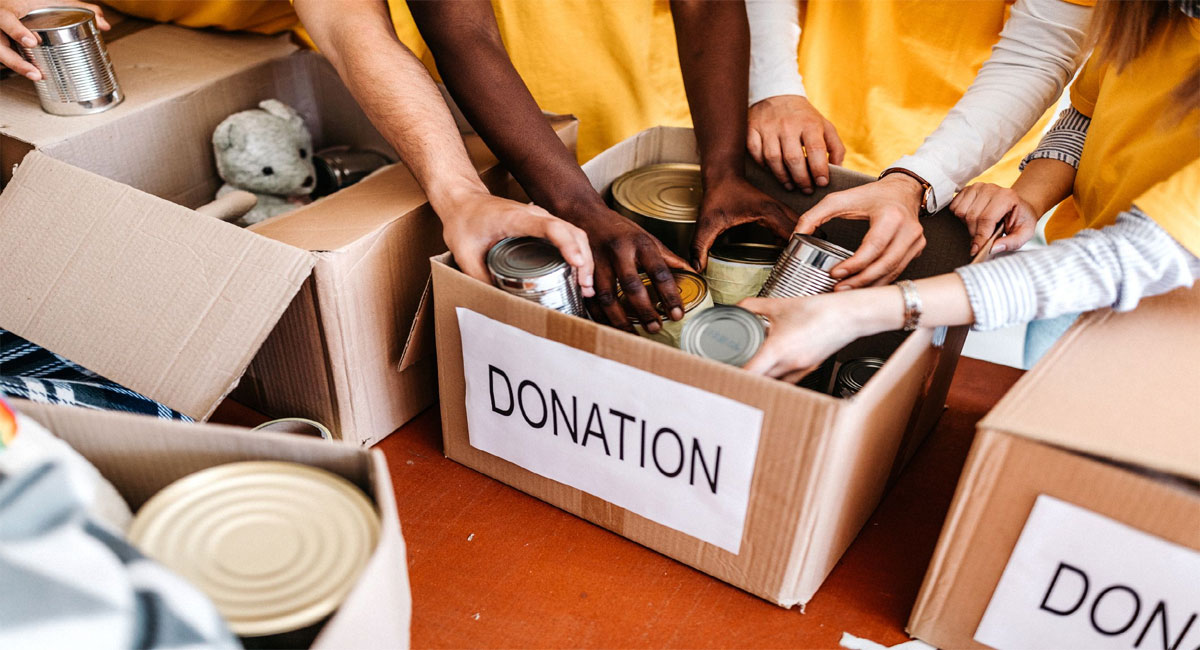 what should not be donated to the visitors