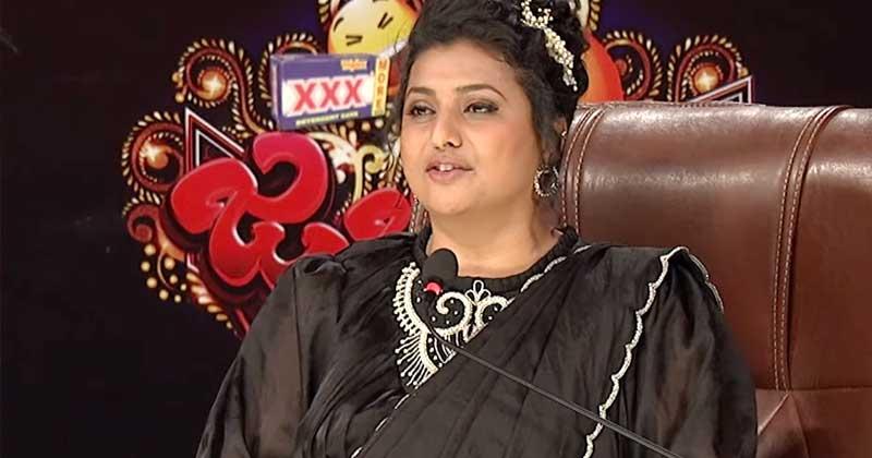 roja about sudigali sudheer skit with rashmi gautam