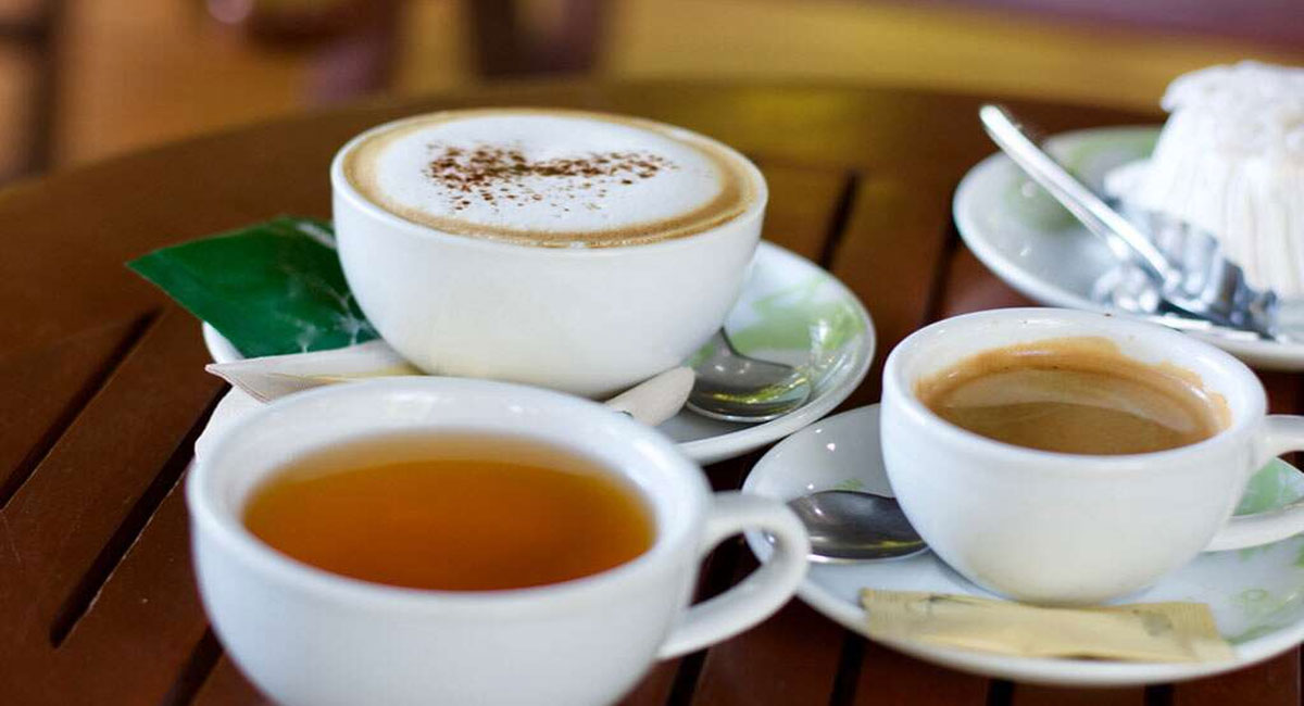 side effects of drinking tea and coffee at night