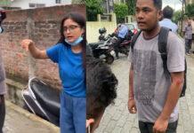 young girl facebook post viral in assam