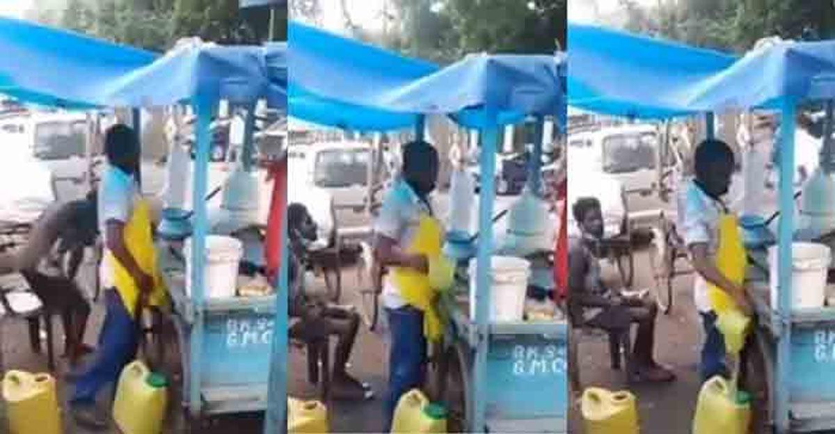 panipuri seller mixes urine in pani puri water in guwahati video viral
